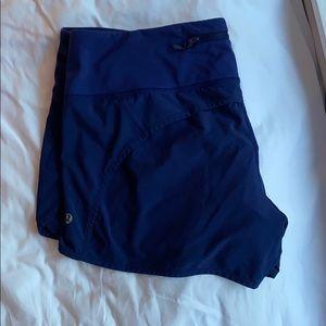 Navy blue Lulu Lemon shorts!
